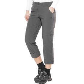 The North Face Exploration Convertible Pants Regular Women asphalt grey